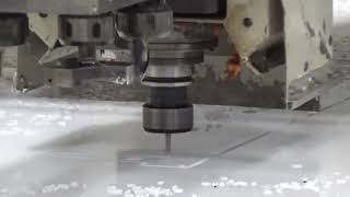 Cutting UHMW Poly Arena Drags on CNC Router