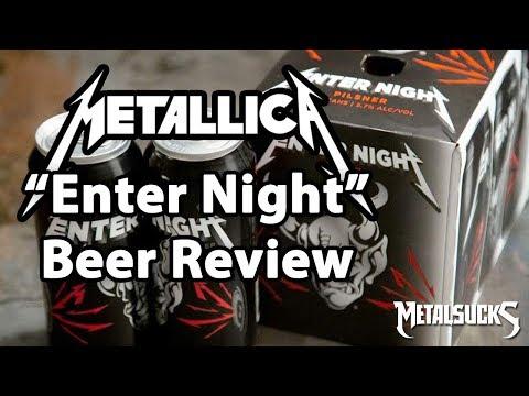 METALLICA Enter Night Beer Review and Tasting | MetalSucks