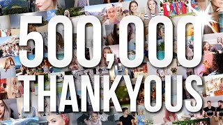 500,000 THANKYOUS. THIS IS FOR YOU!