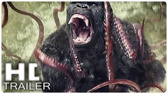 KONG SKULL ISLAND Alle Trailer + Clips German Deutsch | Filme 2017 King Kong