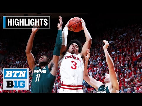 Highlights: Hoosiers Earn Signature Win | Michigan State at Indiana | Jan. 23, 2020