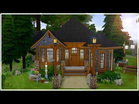CONSTRUINDO CABANA RUSTICA (SEM CP) 🏢 | The Sims 4 | Speed Build