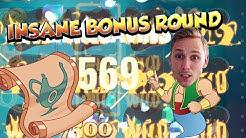 BIG WIN!!!! The Wish Master - Casino Games - bonus round (Casino Slots) Huge Win