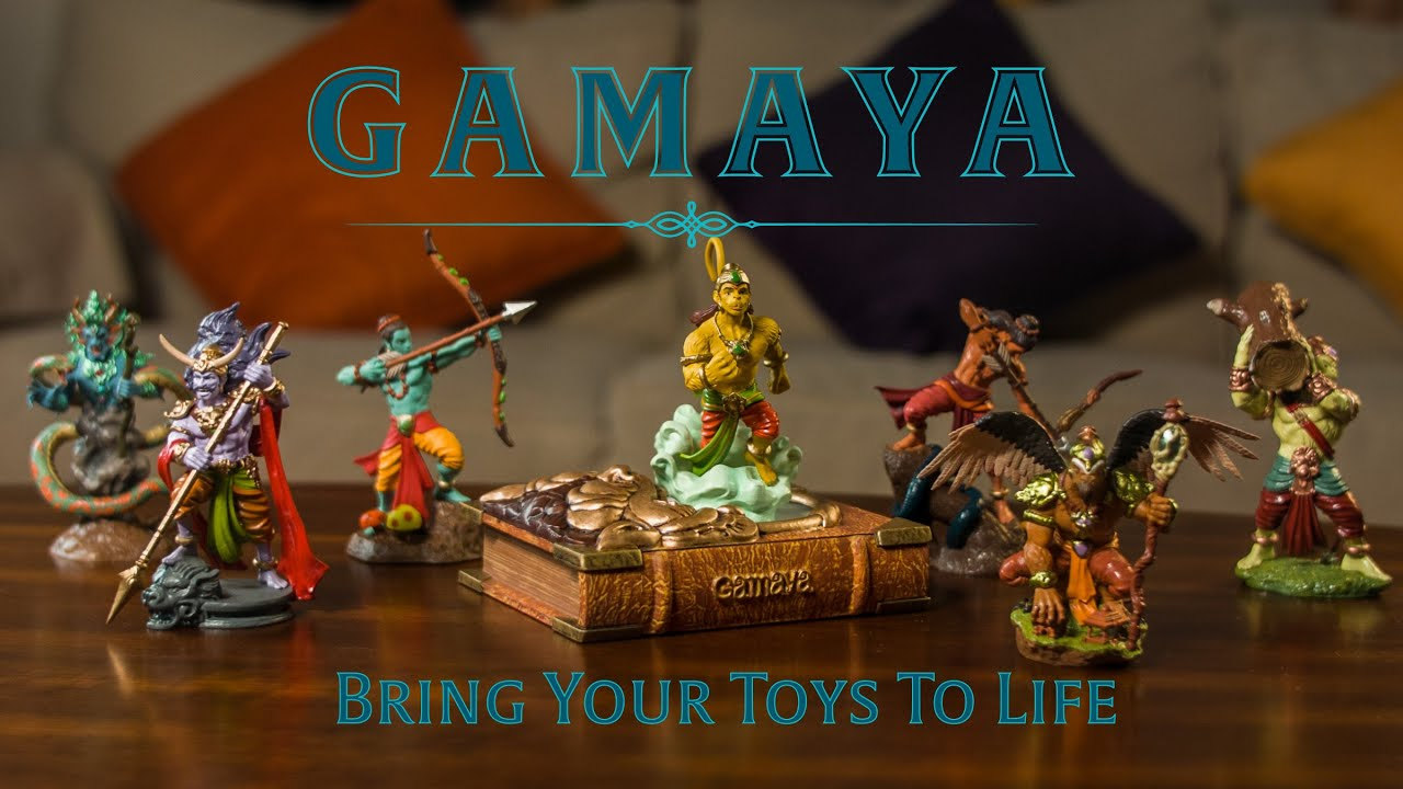 Toys For Life : Gamaya legends bring your toys to life youtube