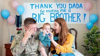 Download Toddler Surprises Daddy with Pregnancy Announcement!!! *Shocked* Mp3 and Videos