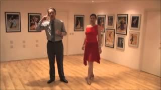 Вальс-обучение танцу. Простые движения