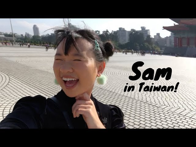 ????   Sam Goes To Taiwan  ???? ????????????!   2017 December Vlog