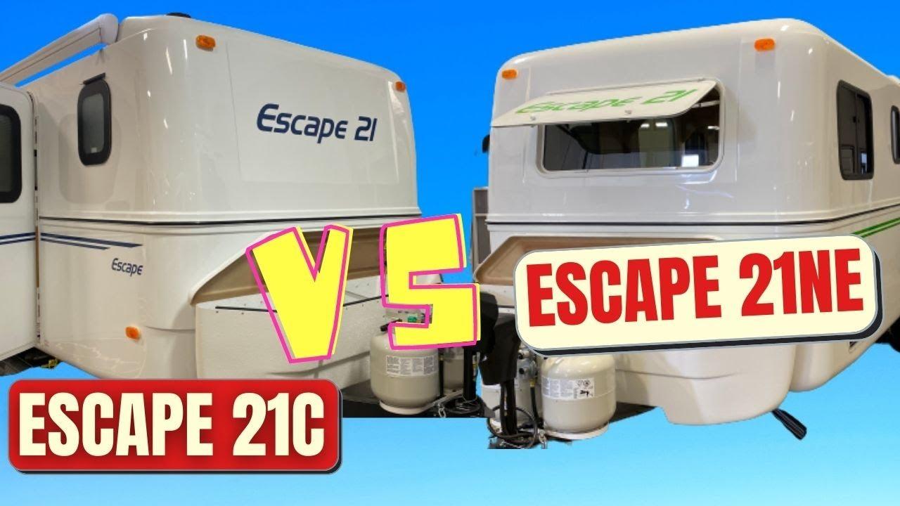 Download Escape Trailer 21C vs 21NE - Our Choice