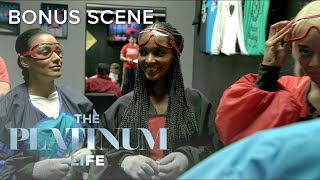 "Crystal Finds a Way Out of Indoor Skydiving on ""The Platinum Life"" 