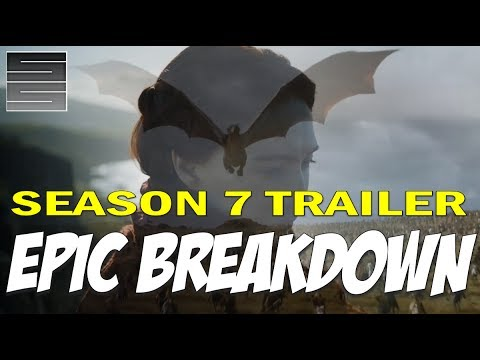 Game of Thrones Season 7 Official Trailer Explained! Breakdown / Review