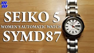 Get Your Gal A Seiko 5 Symd87 Women's Watch For Valentine's Day! - Full Review
