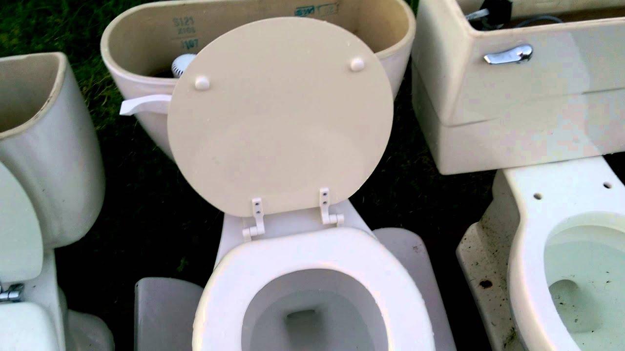 flushing 8 toilets