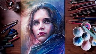 Rogue One: A Star Wars Story - Jyn Erso | drawholic