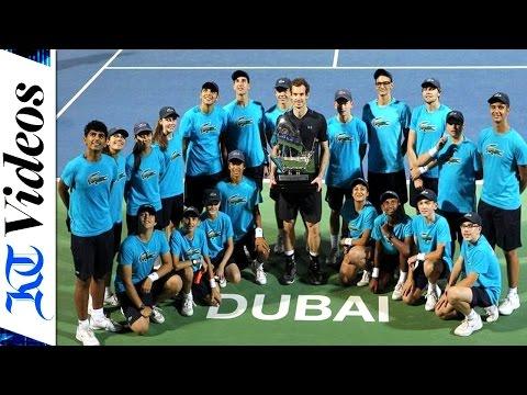 Murray tames Verdasco to clinch maiden Dubai Duty Free title