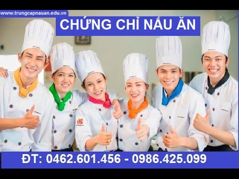 Chứng chỉ nấu ăn tại Hà Nội