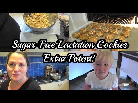 Sugar-Free Lactation Cookies   EXTRA Potent