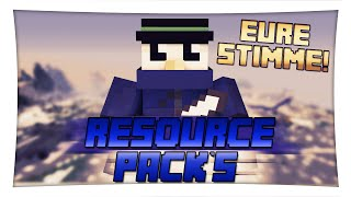 Repeat youtube video Eure ResourcePacks! - Minecraft : Resource-Pack´s | Fabo