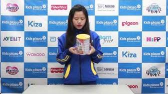 Hướng dẫn pha sữa bột Nestlé NAN Kid 4