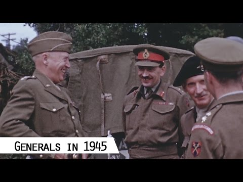 Generals - Liberation of Europe in 1944 (in color and HD)