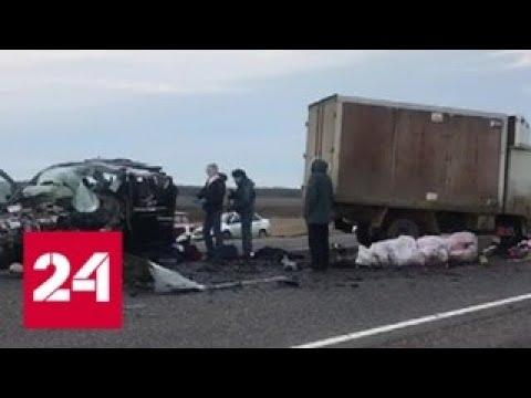 Заснул за рулем. Полиция назвала причину смертельного ДТП на Ставрополье - Россия 24