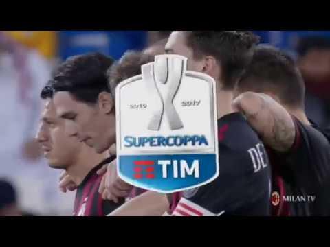Rigori e premiazione Supercoppa ITA - Doha 2016