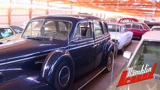 Shed Tour Part 1 - Hot Rods and Classic Cars