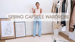 Spring Capsule Wardrobe | Spring Staples & Essentials 2020