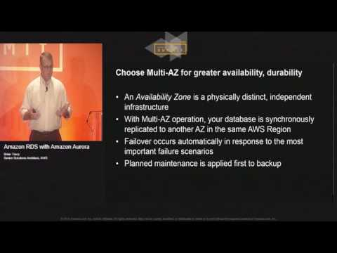 Amazon RDS with Amazon Aurora | AWS Public Sector Summit 2016