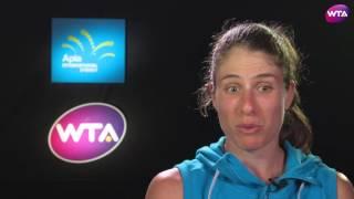 My Performance | Johanna Konta Defeats Daria Kasatkina | 2017 Apia International Sydney Quarterfinal