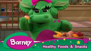 Barney|Eating Healthy With Barney!|Healthy Habits