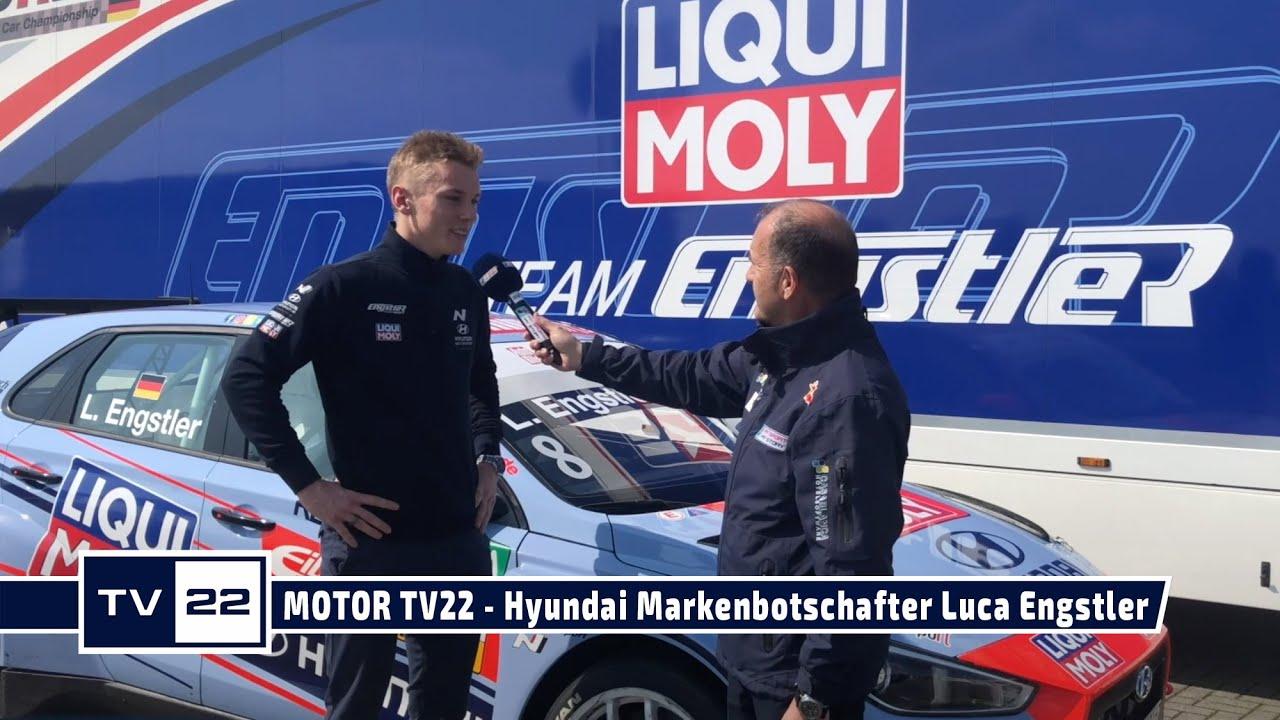 MOTOR TV22: Hyundai Markenbotschafter Luca Engstler startet 2021 in der ADAC TCR Germany