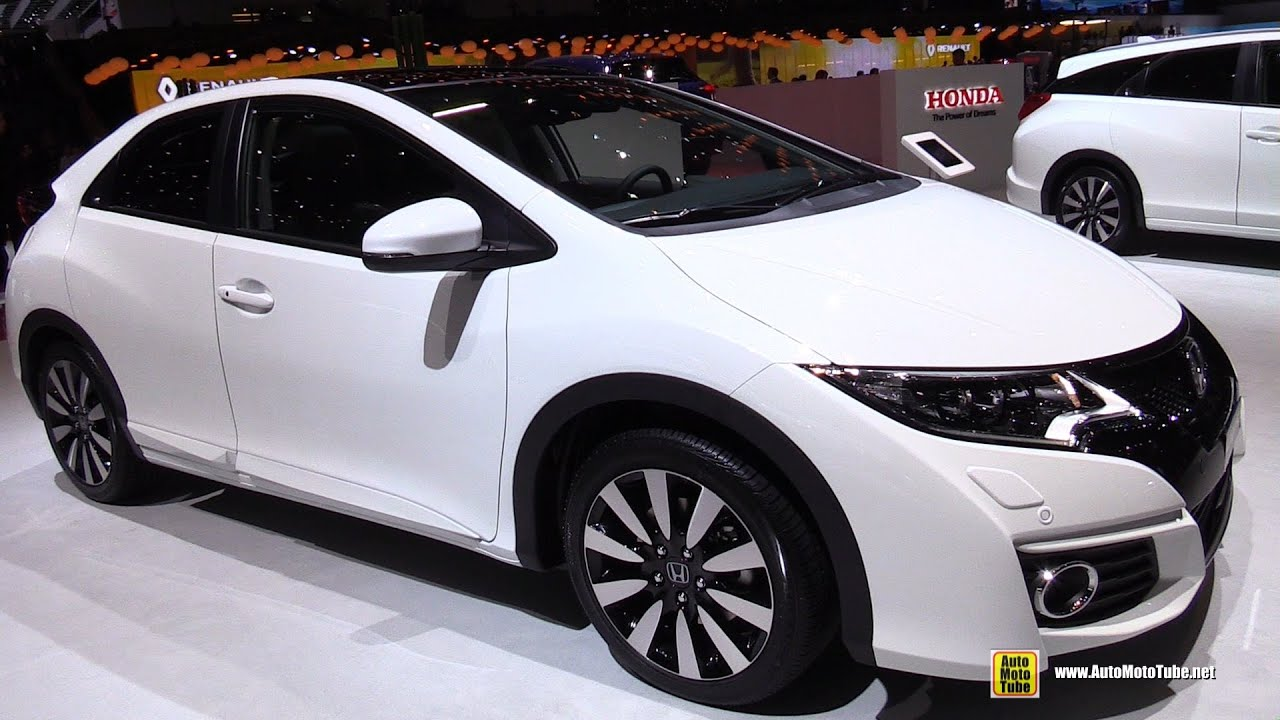 2015 Honda Civic   Exterior And Interior Walkaround   2015 Geneva Motor  Show   YouTube