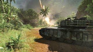 ТАНКОВЫЙ БОЙ В Crysis 1 - прохождение миссии Onslaught
