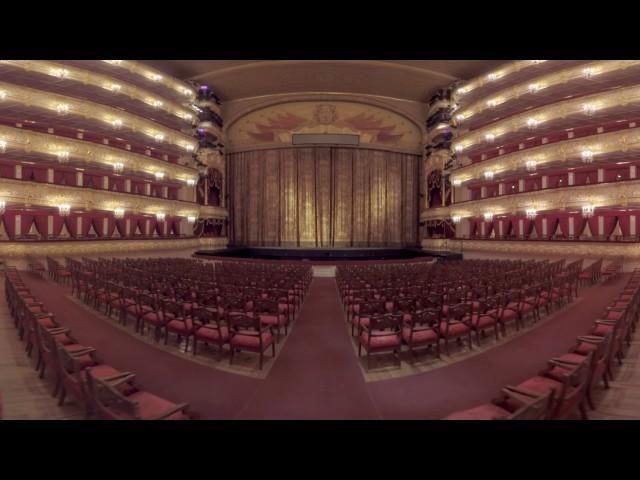 Видео 360: панорамная прогулка по Большому театру