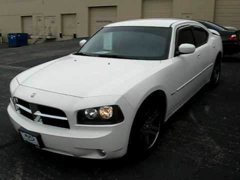 2006 dodge charger rt white sn879 youtube. Black Bedroom Furniture Sets. Home Design Ideas