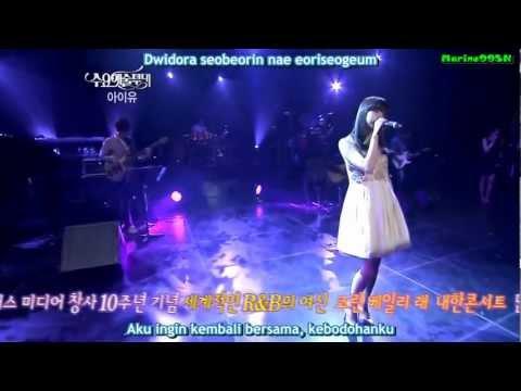 IU - Rain Drop [Live] (indo sub)
