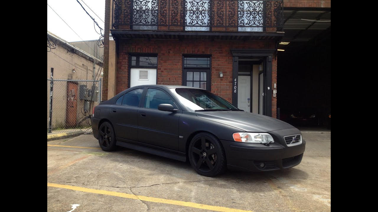 Volvo S60R For Sale >> 2006 Flat Black Volvo S60 R For Sale at Metairie Speed Shop - YouTube