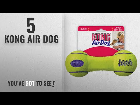 Top 5 Kong Air Dog [2018 Best Sellers]: Squeaker Dumbbell Large