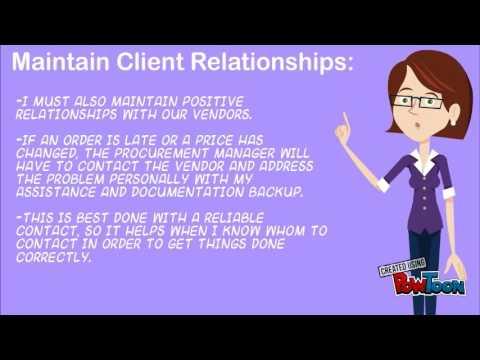 procurement specialist