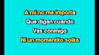 Los Bukis El celoso Karaoke