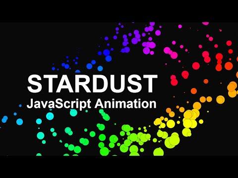 [Vanilla JS] Particles Animation | Stardust Parallax Effect | Tutorial + Src