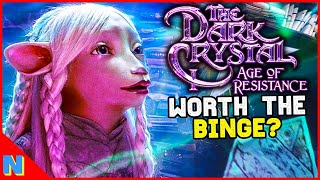 Is 'The Dark Crystal: Age of Resistance' Worth Watching? Nonspoiler + Spoiler Review | N+C