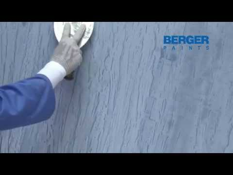 How to use Royale Play Italian Stucco for Textured Walls | Designer Finish | Berger Paints Arabia
