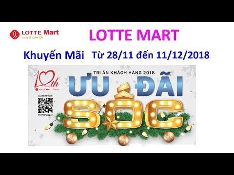 Khuyến Mãi - Siêu Thị Lotte Mart - Từ 27/11 đến 11/12/2018