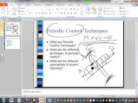 Project Management Project Control Techniques Ch#12 05 13 14
