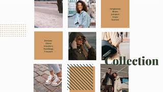 Fashion Collection Slideshow Video Template