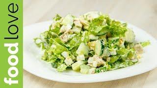Очень нежный летний салат из самых простых продуктов | Салаты | FoodLove