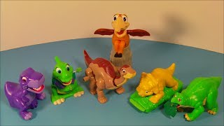 1997 THE LAND BEFORE TIME COLLECTION SET OF 6 BURGER KING KID