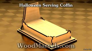 Halloween Serving Coffin: 3d Assembly Animation (720hd)