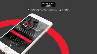Off Broadway Shoes: Mobile App